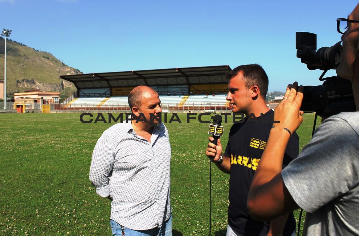 Prima intervista in esclusiva del neo presidente della Puteolana Antonio Cristiano