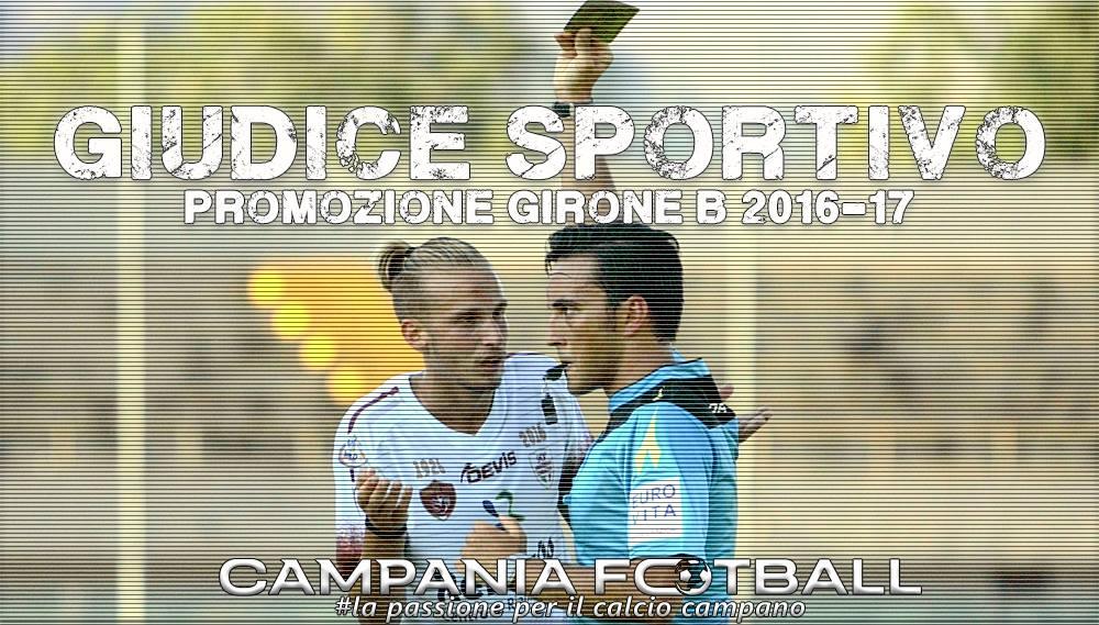 Promozione girone B : giudice sportivo terza giornata.