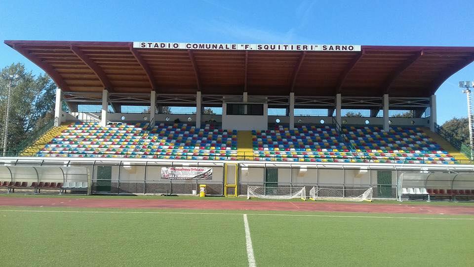"""""""Squitieri"""" di Sarno, tutto pronto per la nuova tribuna Bottaro"""
