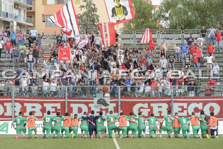 Coppa Italia Serie D, Turris-Gragnano: ingresso consentito a 670 tifosi corallini