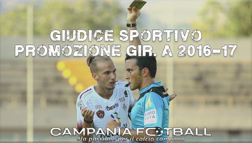 Promozione Girone A: giudice sportivo post-recupero 28^ giornata