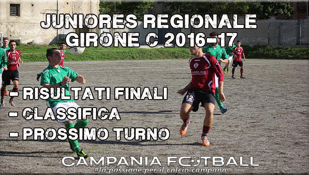 Juniores Regionale Girone C, 6ª Giornata: risultati, classifica e prossimo turno