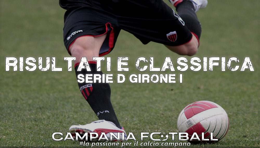 SERIE D GIRONE I, 5^GIORNATA: RISULTATI FINALI E CLASSIFICA