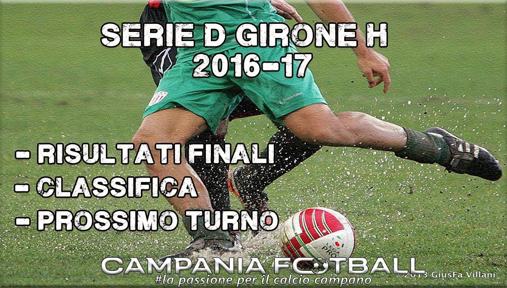 SERIE D GIRONE H, 8^GIORNATA: RISULTATI FINALI CLASSIFICA E PROSSIMO TURNO
