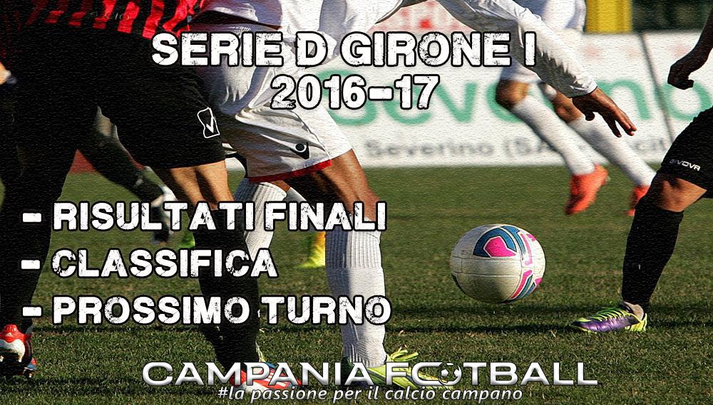 SERIE D GIRONE I, 25^GIORNATA: RISULTATI FINALI, CLASSIFICA E PROSSIMO TURNO
