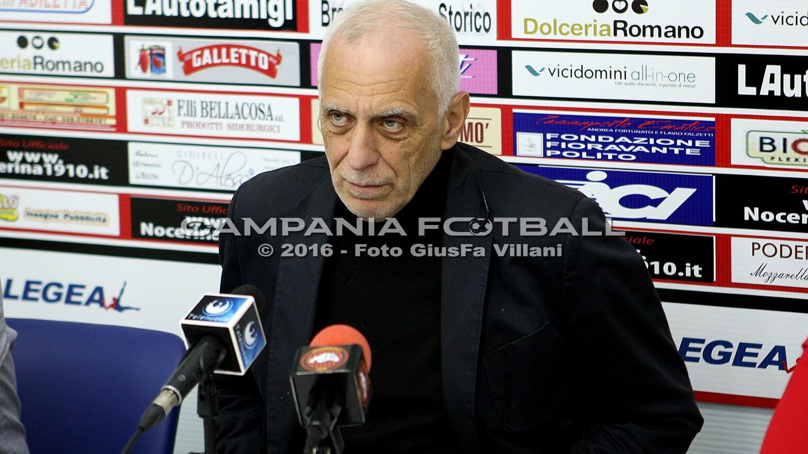 FOTO | Nocerina: conferenza stampa di Gianni Simonelli
