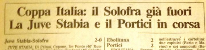 ANTEPRIMA FINALE COPPA ITALIA DILETTANTI 2017   50 anni di storia delle due contendenti