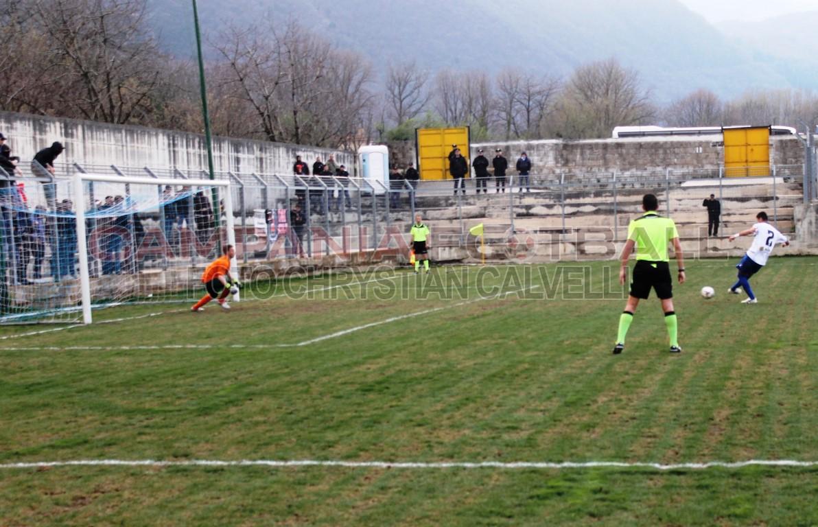 FOTO | Sequenza esclusiva gol vittoria di Pepe in Cervinara vs Sorrento