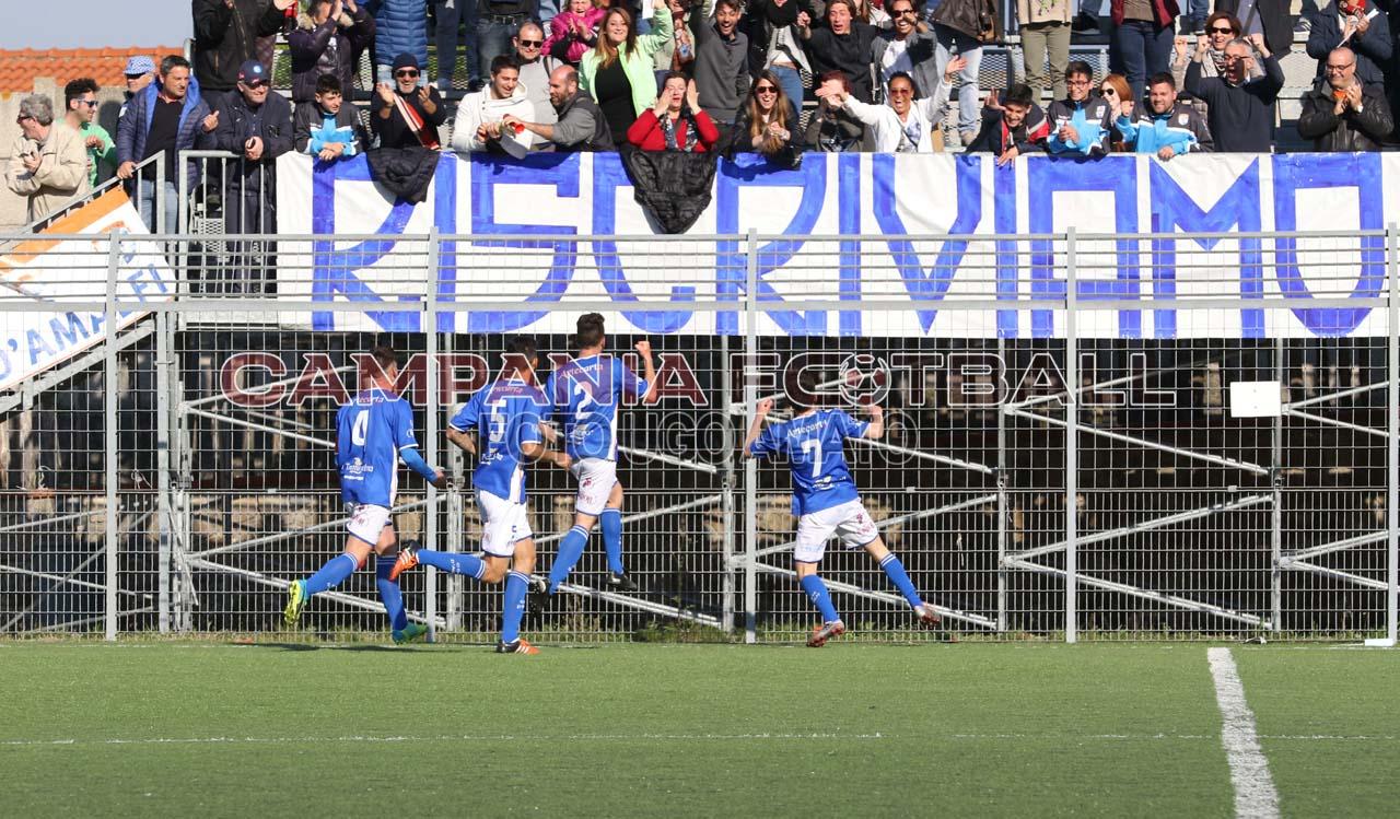Gol annullato per fuorigioco da angolo: il Costa di Amalfi è una furia