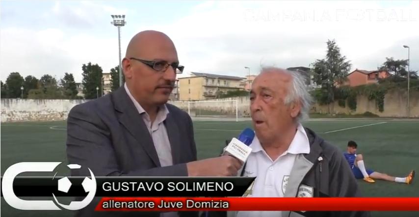 VIDEO | Finale Juniores Regionale: intervista a Gustavo Solimeo della Juve Domizia