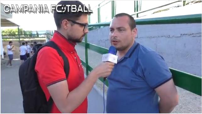 """VIDEO   Montesarchio, Mataluni: """"La partita di oggi, la presenza dei tifosi mi ha fatto capire degli errori commessi in passato"""""""