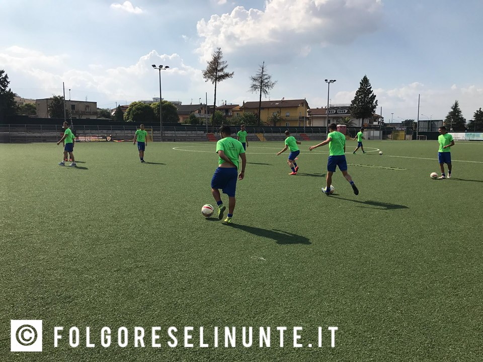 Folgore Selinute in ritiro nel Sannio: rifinitura al Carmelo Imbriani