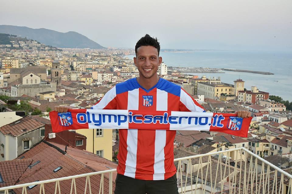 Olympic Salerno, ecco l'ariete Diego Collina, pronto per vincere un altro campionato