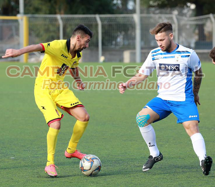 CALCIOMERCATO   Vis Ariano ad un passo da Di Capua, centrocampista stabiese ex Serino