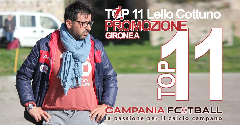 La Top 11 di Promozione Girone A: i migliori 11 per mister Lello Cottuno