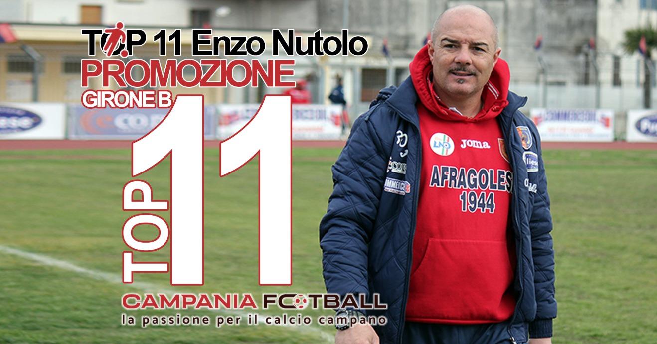 Top 11 Promozione Girone B: quattordicesima giornata stilata dal tecnico Vincenzo Nutolo