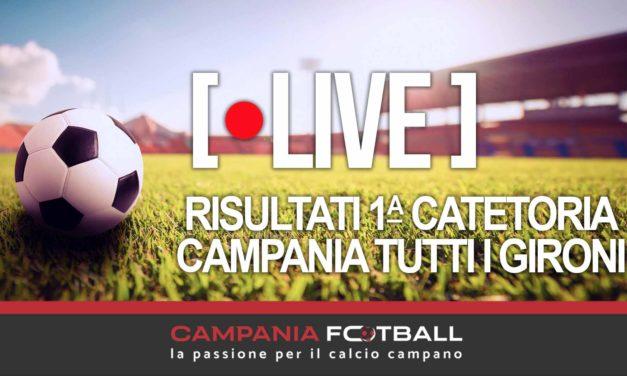 LIVE | Risultati 1ª Categoria, 7ª Giornata