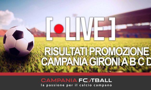 LIVE | Risultati Promozione, 14ª Giornata