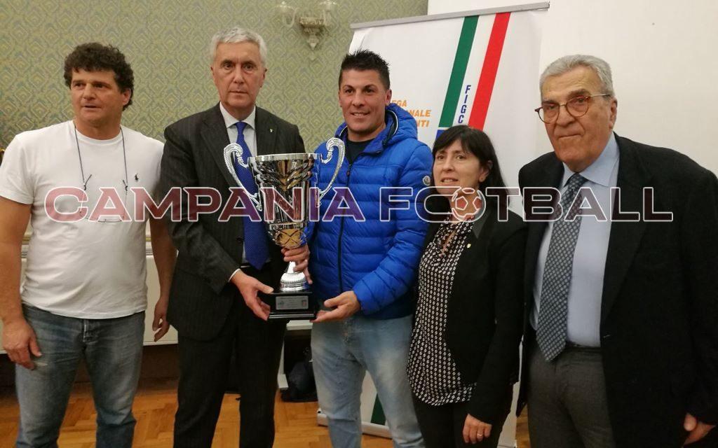 FOTO | Premiazioni società vincitrici provincia di Salerno stagione 2016/17