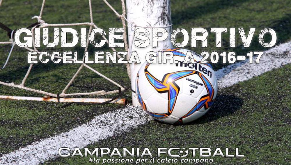 Giudice Sportivo: Eccellenza Girone A 25ª Giornata