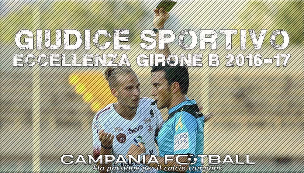 Eccellenza Girone B: le decisioni del Giudice Sportivo per la 6^ Giornata