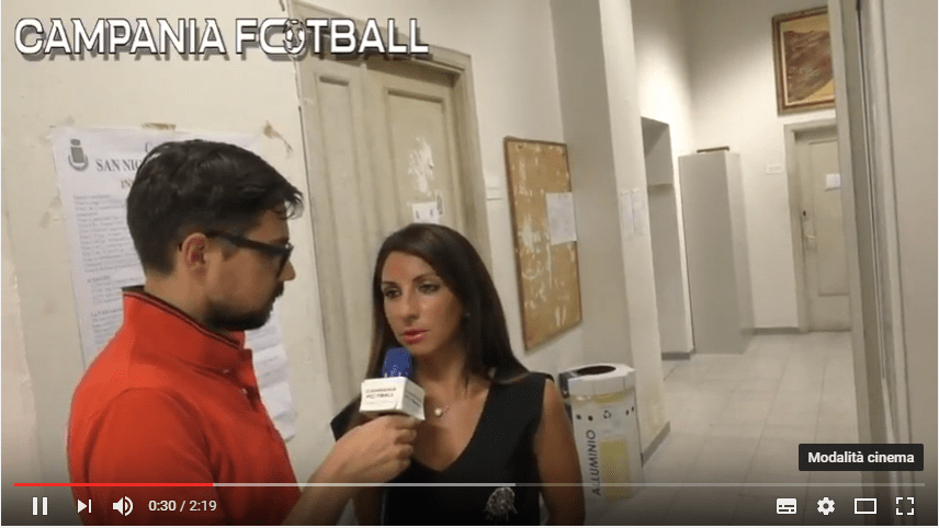 VIDEO   Asd San Nicola Manfredi: parola al Presidente Teresa Meccariello