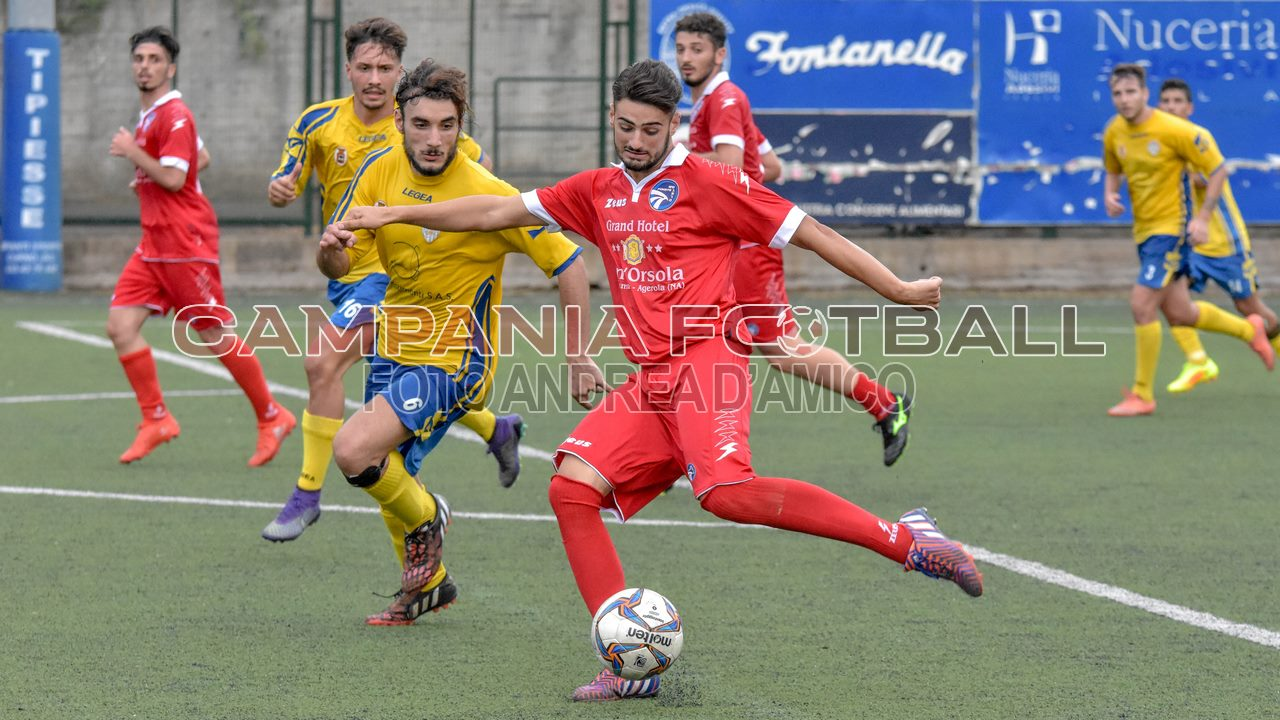 COPPA ITALIA SERIE D: Cirillo risponde a Romano, finisce in parità la sfida tra Alfaterna e Pimonte