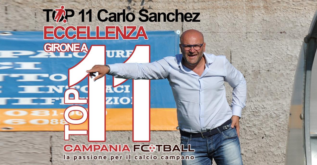 La Top 11 di Eccellenza Girone A: i migliori 11 per mister Carlo Sanchez